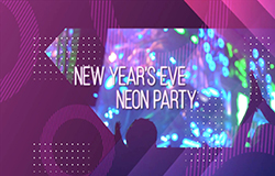 Canvas New Year s Eve Neon Party