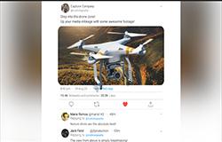 3d Template - Drone Twitter Skin (deposit Fee)