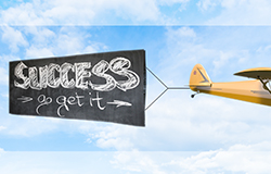 Canvas - Airplane Banner