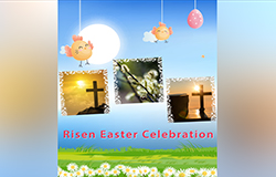 Vertical - Happy Easter