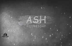 Canvas Ash Wednesday