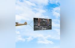 Vertical - Airplane Banner